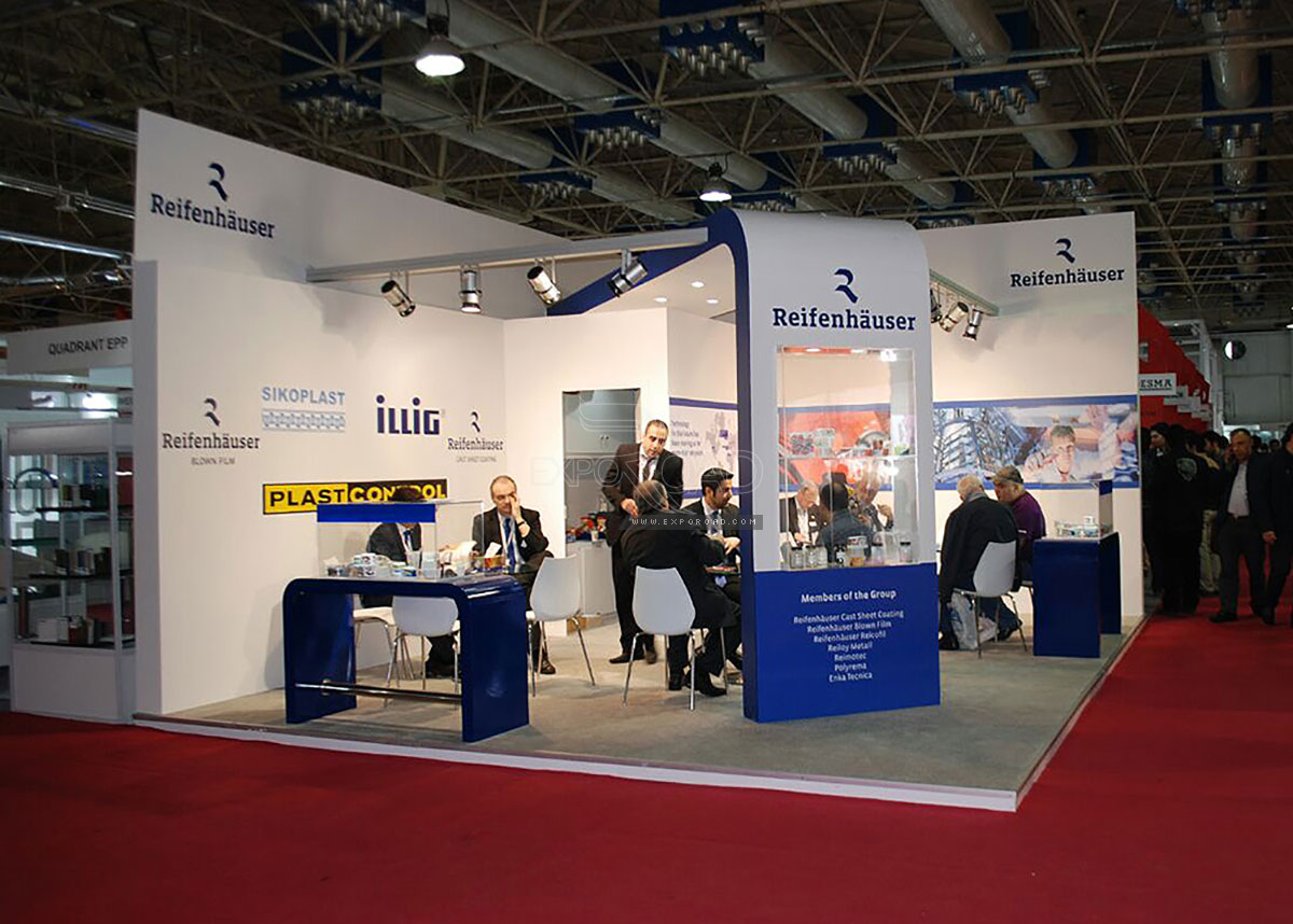 Exhibition Stand Contractor In Iran : Exhibition stand portfolio